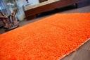 MIĘKKI DYWAN SHAGGY 5cm 100x150 pomarańcz @10640 Kształt Prostokąt