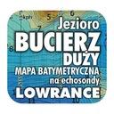 Jezioro Bucierz Duży mapa batymetryczna Lowrance