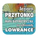 Jezioro Przytonko mapa na echosondy Lowrance BG