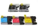 5Brother LC123 tusz drukarki DCP-J552DW MFC-J470DW