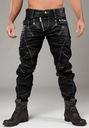 Cipo Baxx Spodnie Jeansy Woskowane Western Motor Płeć Produkt męski