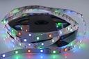ZESTAW taśma LED RGB 300SMD 2835 MUZYCZNY DISCO 5m Waga (z opakowaniem) 0.4 kg