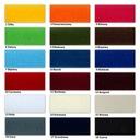 RZEP rzepy taśma 25mm 2,5cm Komplet 1mb 18 kolorów Kolor biały czarny brązowy, beżowy czerwony niebieski szary, srebrny ecru pomarańczowy różowy żółty, złoty zielony granatowy inny kolor