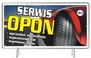 Solidny Baner reklamowy 3x1m Wulkanizacja OPONY Numer katalogowy producenta 9876821188132