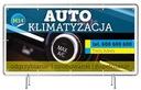Solidny Baner reklama 2x1m Klimatyzacja Szyld Numer katalogowy producenta 9876821188132