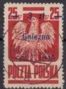 1945 - Wyzwol.10 miast -Gniezno Fi 354 kas.