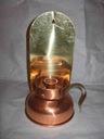 Świecznik miedziany Lampa