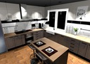 Projekty pomieszczeń, wizualizacje 3D online