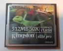 Compact Flash 512MB Kingston