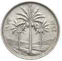Irak - moneta - 25 Fils 1972
