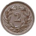Szwajcaraia - moneta - 2 Rappen 1941 - 2