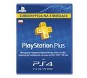 Karta PlayStation Plus 90 dni