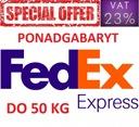 FEDEX PONADGABARYT 50KG - Przesyłki KURIERSKIE FV