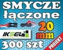 300szt Smycze reklamowe z ŁĄCZNIKIEM 20mm PROJEKT!