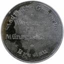 39.WROCŁAW - ŻETON GAZOWY - 1921