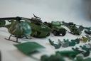 Zestaw LOT żołnierzyki, jeep, czołg, 2 helikoptery