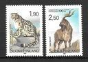 Finlandia znaczek ** czysty fauna ssaki