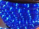 Wąż sznur świetlny oświetlenie dioda LED NIEBIESKI