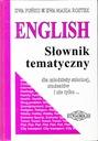 ENGLISH SŁOWNIK TEMATYCZNY * PUŃKO ROSTEK