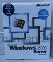 Windows 2000 Server BOX PL + SQL Server 2000