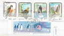 Świat zestaw znaczków kasowanych Ptaki
