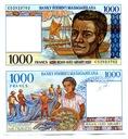 MADAGASKAR 1000 FRANCS 1994 P-76 UNC