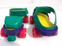 WROTKI zakładane na buty, regulowana długość 17,5