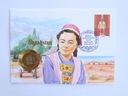 Koperta - KAZACHSTAN - 100 Rubli 1992 - A681