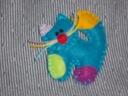 Cudowana Broszka filc filcowa --kotek