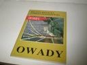 książka  OWADY