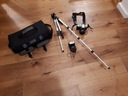 Aparat Pentax MZ-50 lampa obiektyw stojak torba BC