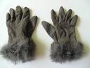 Modne eleganckie rękawiczki rozmiar S