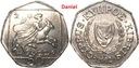 50 cents z 2002 roku z Cypru