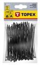 Opaski zaciskowe trytytki TOPEX BLACK 100mm 44e970