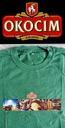 OKOCIM BEER Carlsberg t-shirt zielony M