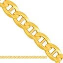 Łańcuszek komunijny Pełny KOMUNIA  złoty złoto 585