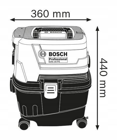 Odkurzacz Bosch GAS 15PS Professional
