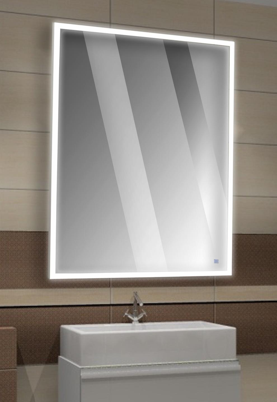 Lustro Led W Ramie Aluminiowej Mocne Oświetlenie