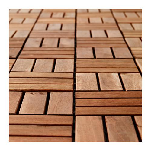 Ikea Runnen Podest Tarasowy Drewniany Akacja 1szt
