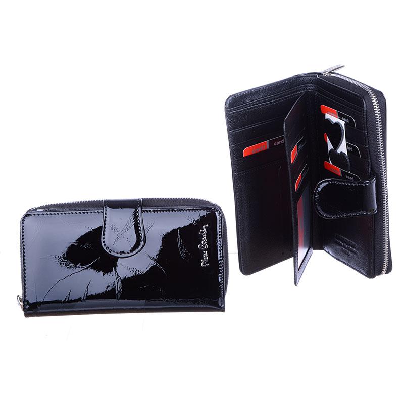 b8749b3b68f21 PIERRE CARDIN Duży skórzany portfel damski PREZENT 7092561191 ...