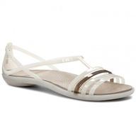 Sandały Crocs Isabella Sandal W biały 39,5 (W9)