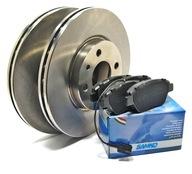 Тормозные диски Колодки przód Fiat Stilo 1.2 1.4 1.6 16V