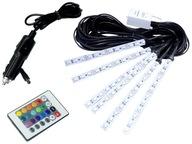 Освещение WNĘTRZA auta RGB samochodu Светодиодные лампы 6x12Светодиодные лампы