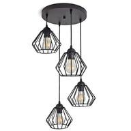 LAMPA WISZĄCA SUFITOWA ŻYRANDOL BRYLANT LED 724-E4