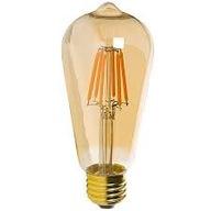 Żarówka LED E27 ST64 6W=60W 540lm filament Edison