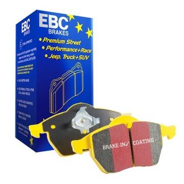 колодки ebc ford mustang 4.0 4.6 gt 2005-2012 e8 - фото