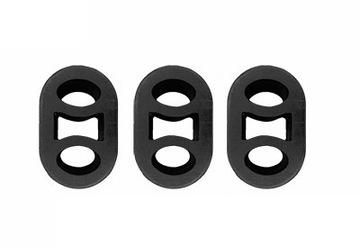 комплект wieszakow глушитель конечный opel astra g 3x095 - фото