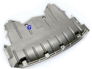 защита двигателя под двигатель bmw x5 e70 06-10 hdpe - фото