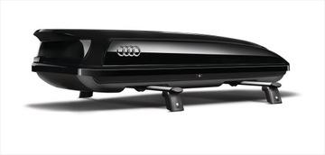 багажник крыши audi 300 l лыжи черный aso - фото