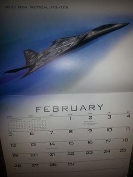 Календарь Lockheed Martin - для коллекционера доставка товаров из Польши и Allegro на русском